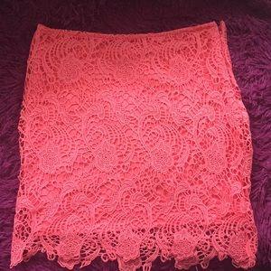 Dresses & Skirts - Lace mini skirt